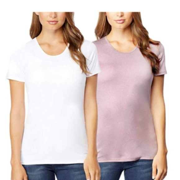 32 DEGREES Tops - Women's 32 DEGREES short sleeve scoop tees